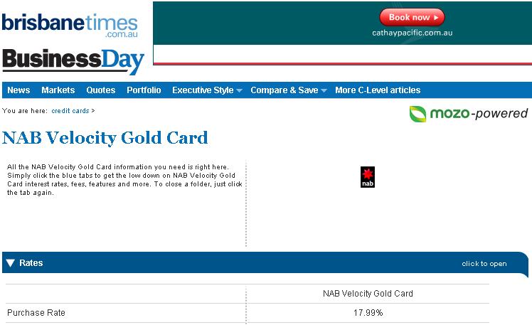 brisbane-times-credit-card-spam