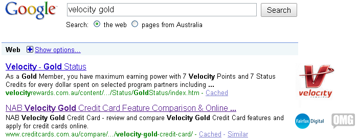 velocity-gold-top-results