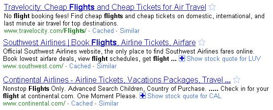 brand titles