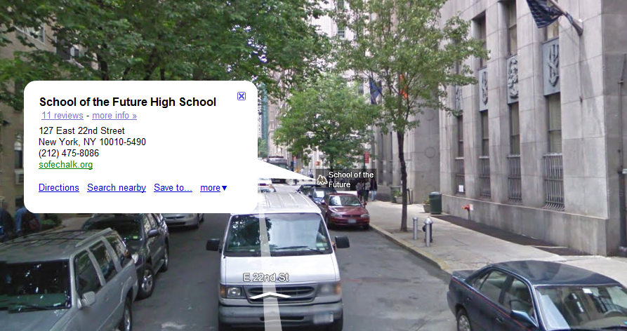 "Google Maps Ads ""School of the Future"""