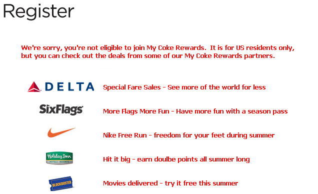 my coke rewards sponsors