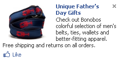 Bonobos Facebook Ad
