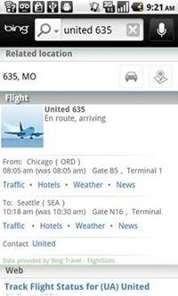 Bing Travel for Mobile