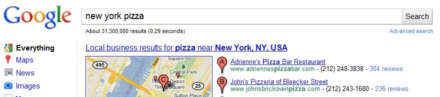 Google Local Places