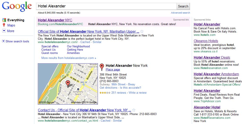 Hotel Alexander New York