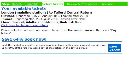 London Train Travel