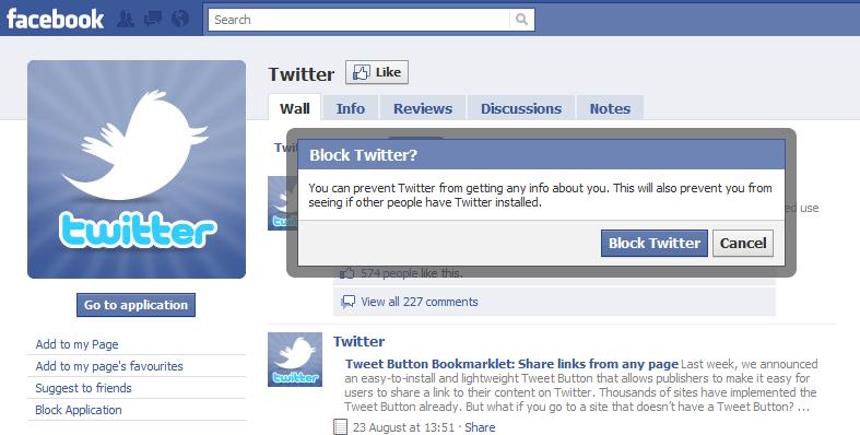 Block Twitter Feeds