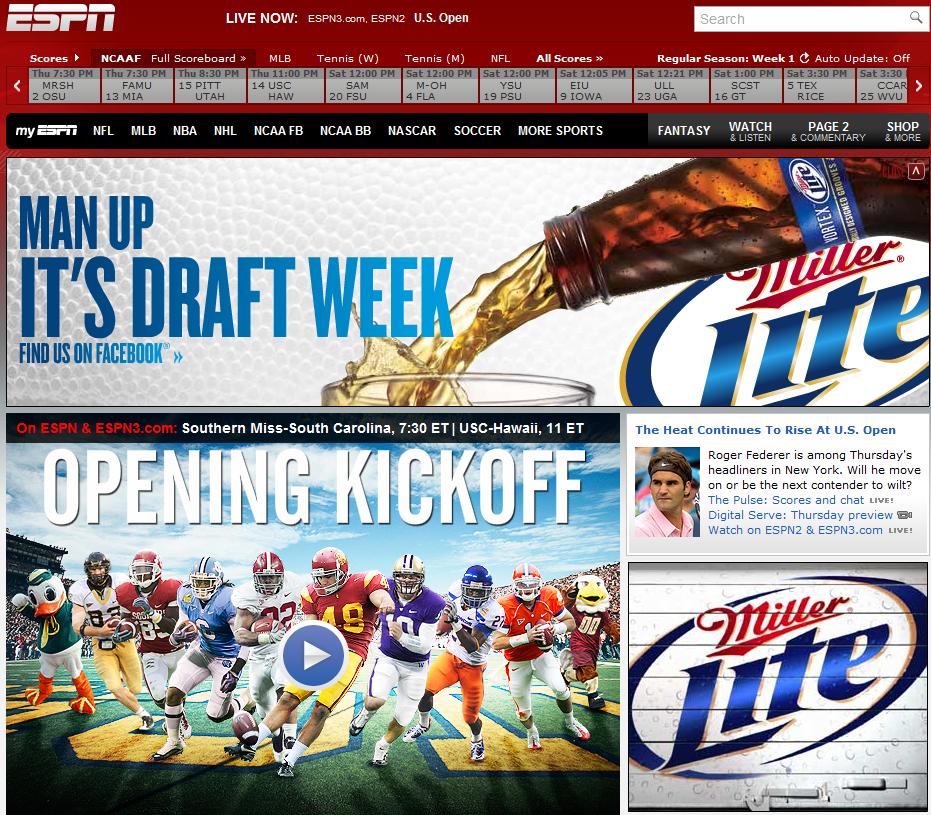 ESPN Go Ads