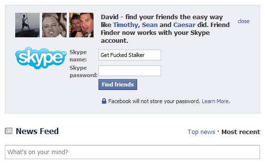 Facebook Privacy Stalker