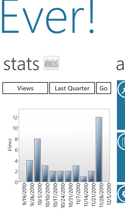 Windows Phone WP Stats