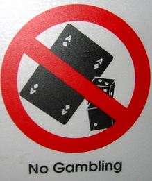 no gambling welcome