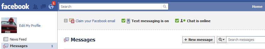 Facebook Message Centre
