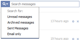 Facebook Search Messages
