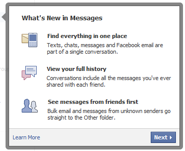 What's new in Facebook Messages