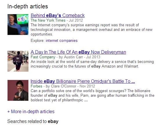 ebay in-depth article results