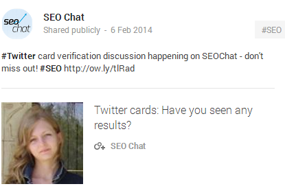 SEO Chat Forum
