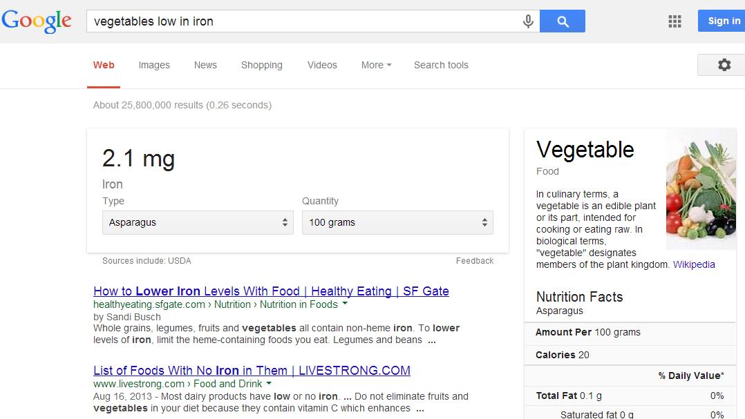 vegies-low-iron