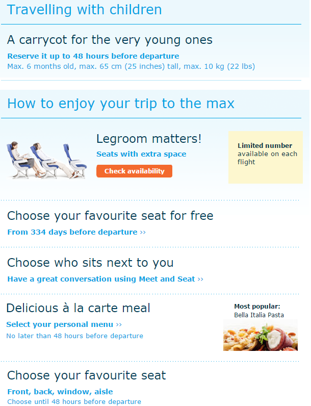 KLM Extra Questions