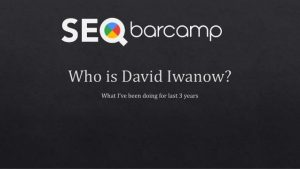 App-Indexing @ SEO Barcamp – London 2016