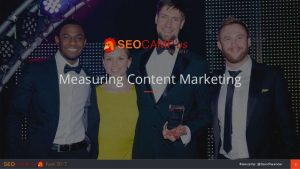 Measuring Content Marketing – SEOCAMP'us
