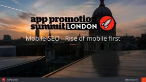 Mobile SEO – Rise of mobile first